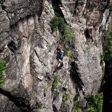 Kurz viacdĺžkového lezenia Hrádok 05/21